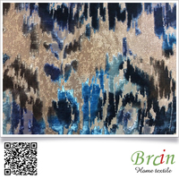 dubai hot sale jacquard velvet upholstery sofa fabric wholesale