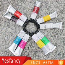 wholesale artist grade acrylic paint with certificate