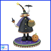 Halloween magician figurines, customizing fine halloween decorations