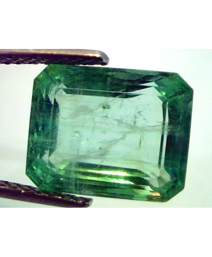 9.41 Ct Unheated Untreated Natural Colombian Emerald Panna Gemstones AAAAA