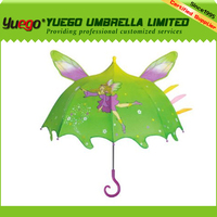 carton printed lovely high quality children umbrella