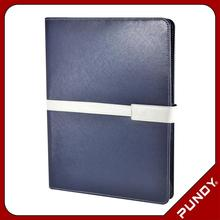 executive portfolio padfolio organizer PU leather documents holder