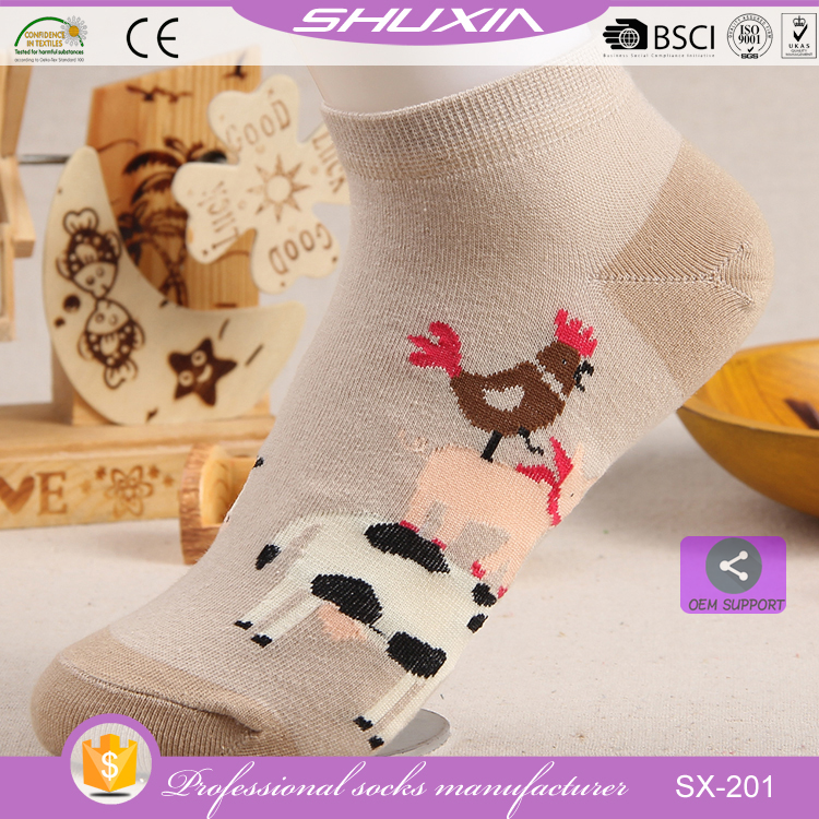 SX-201 low price bulk wholesale cotton knitted lady sport socks cheap crew socks custom knee socks women factory manufacturer