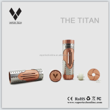 Mechanical mod ecig 26650 mod electronic cigarette Titan in factory price