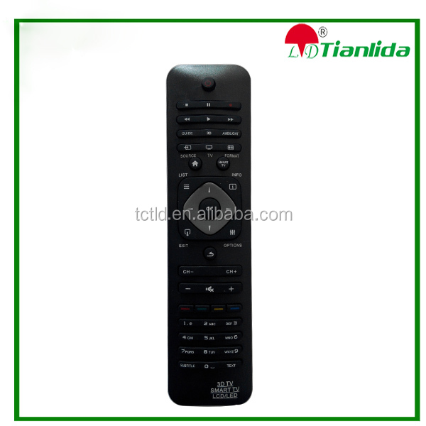 Universal 3D tv lcd led smart TV remote control made in China