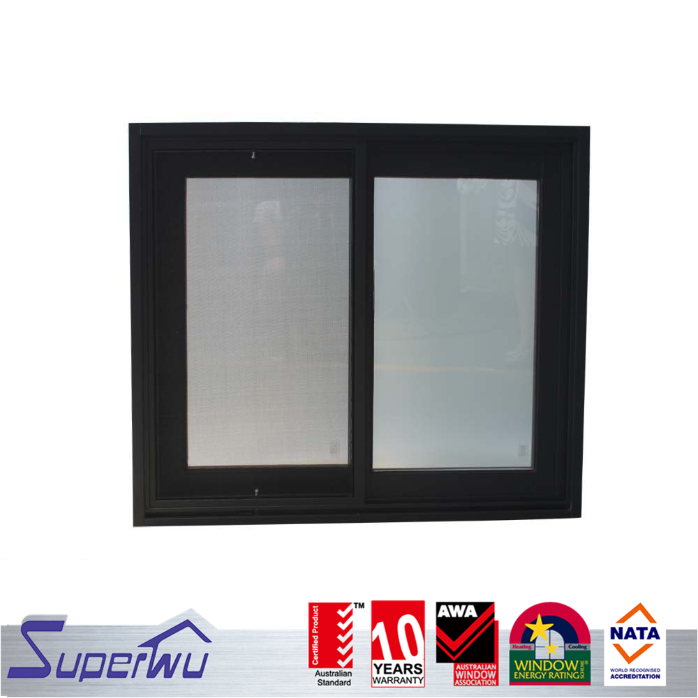 Superwu jewellery window display sliding window with mosquito net power window motor