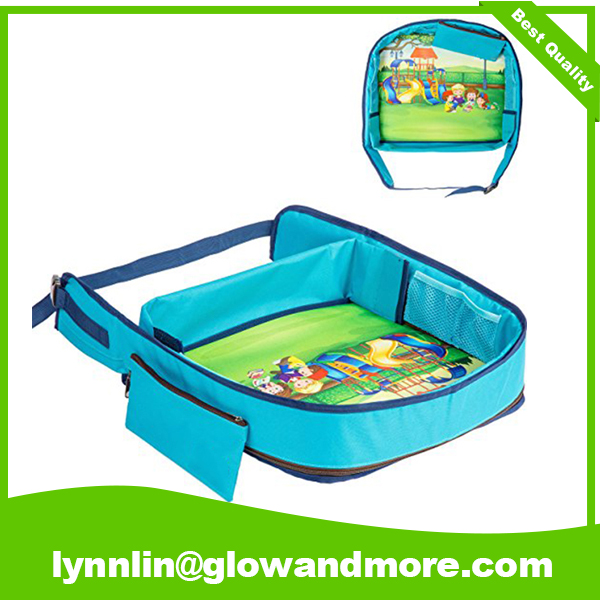 Custome Car Seat Kids Travel Lap Tray