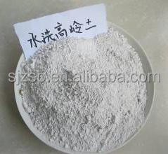 Refractory Used Washed Kaolin Clay / Kaolin Form China Manufactory