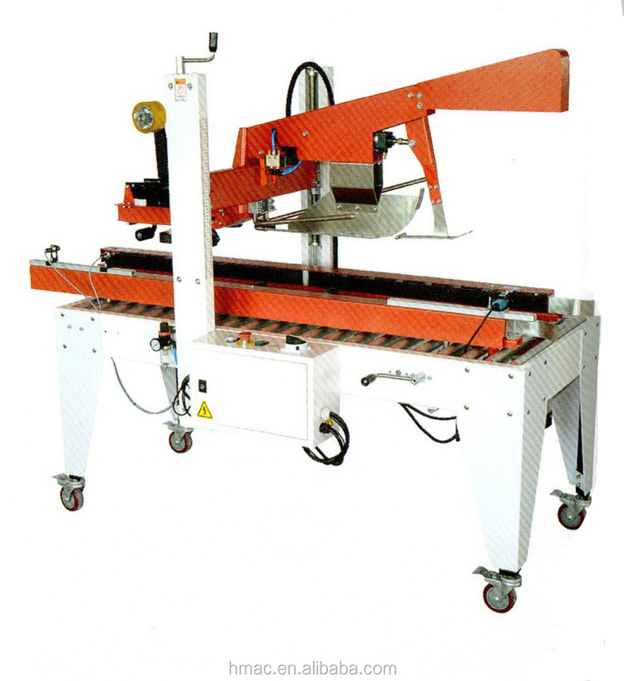 Automatic Cover Folding and Case Sealing Machine