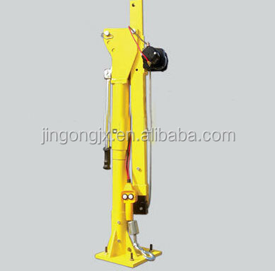 HP1000 mini lifting portable 360 degree 12V electric crane