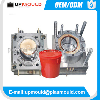 experienced plastic mould factory for plastic paint bucket mould