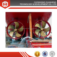 Marine bow controllable pitch tunnel propeller