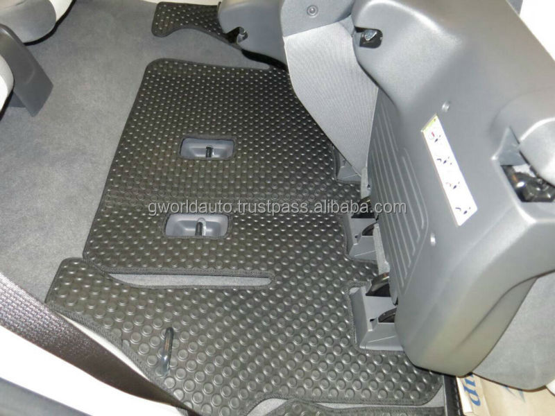Rubber car mat for CHEVROLET TRAILBLAZER MY13-16 (6pcs)