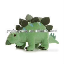 Green cute and plump stuffed animal toy plush dinosaur toy