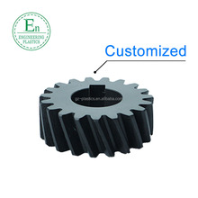 High precise transmission worm rack gear wheels injection molding Delrin POM plastic helical gear