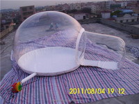 Hot Transparent Inflatable Bubble House, Inflatable Bubble Tent with One Tunnel