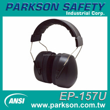 Taiwan Economic Cheap Hearing Protection Black Safety Equipment ANSI S3.19 Sound Proof Earmuff