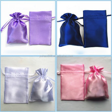 Custom Satin Bags Gift Pouches Crafts Packaging