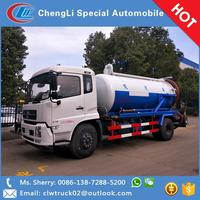 Factory Good Price Dongfeng Tianjin 12CBM Waste Water Suction Truck