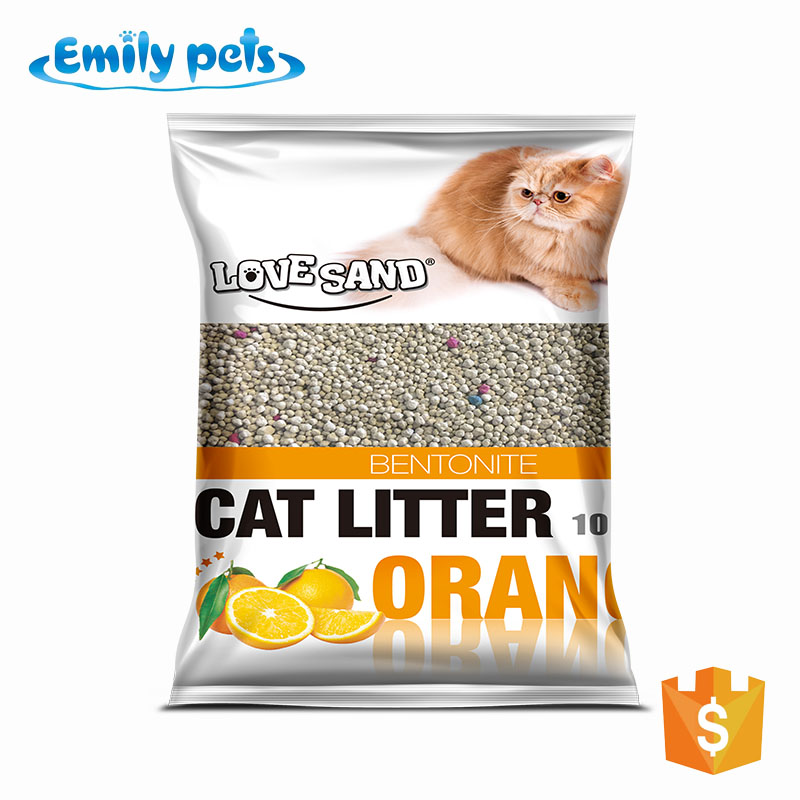 Emily Pets natural quickly clumping and highly absorbent kitty litter