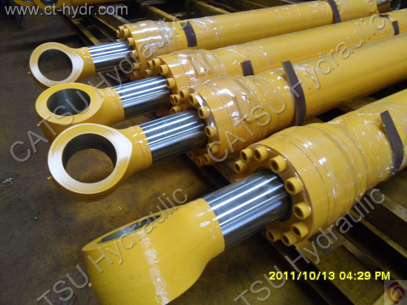 one way hydraulic cylinder for earth moving equipment