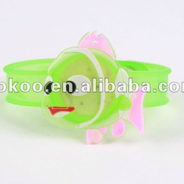 100% Pure Lovely Silicone Charms Bracelet