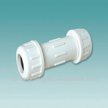 DIN Standard pvc pipe fittings expansion joint