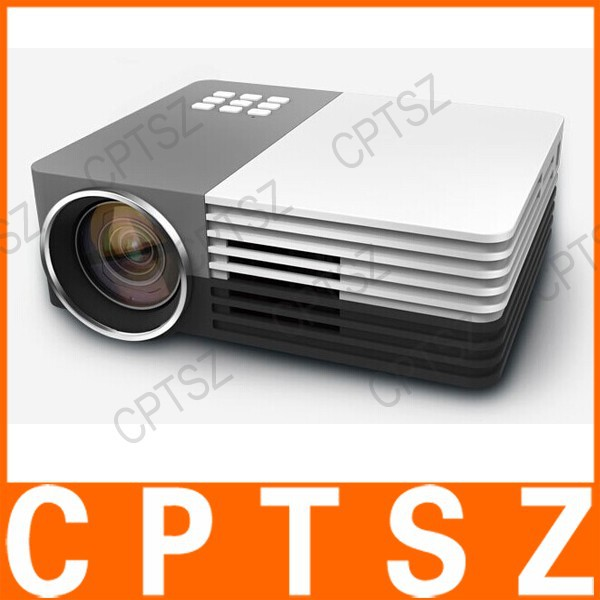 New Arrival GM-50 HD Home Theater Mini LED TV Projector Beamer SD/HDMI/VGA/AV/USB Power LCD Projector