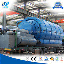 Old plastic recycling machine pyrolysis plant for extracting oil from plastic waste