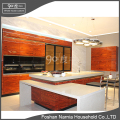 wood veneer lacquer wooden almirah designs kitchen cabinet for hidden style