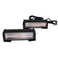 Super bright ourdoor trunk light 2pcs COB drl led daytime running warning 36W flashing led light