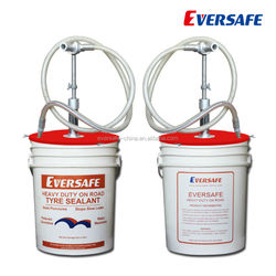 China factory Hangzhou Eversafe Heavy duty truck tyre sealant wit ISO, MSDS