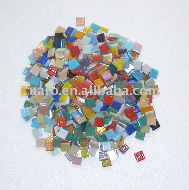 Mosaic craft kit DIY hand make gift material loose glass mosaic chip