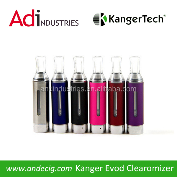 This new EVOD Clearomizer has a spring loaded 1.8 Ohm atomizer which produces a clean, crisp vape.
