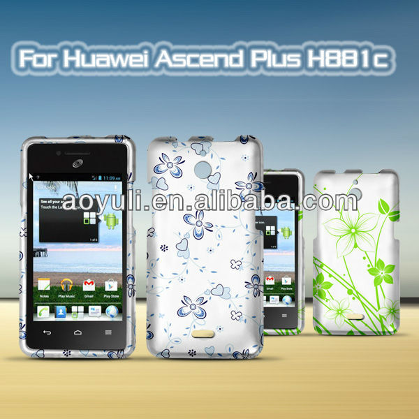Shockproof phone case for Huawei H881c,soothing color cell phone case