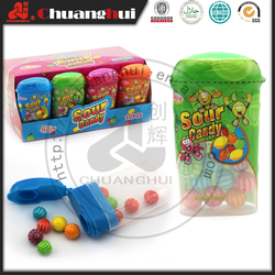 10g Small Colorful Bubble Gum Ball in Bottle