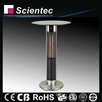 Electric Carbon Fiber Far Infrared Patio Heater With Bar Table CB,CE.GS Approved