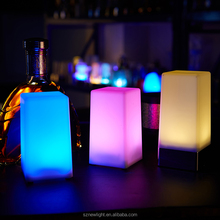 Fashionable wireless LED night light LED bar table lamp