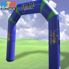 Customized inflatable entrance arch for advertising