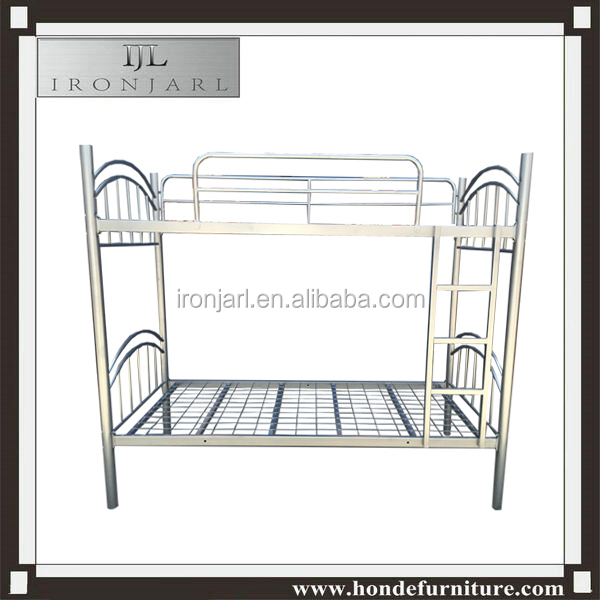 cheap steel tube metal frame bunk bed for labour