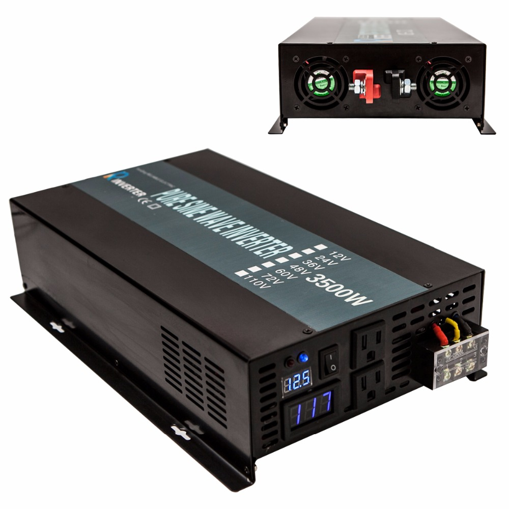 2000W Off Grid DC to AC Pure Sine Wave Solar Power Inverter