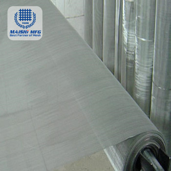 High Precision Stainless Steel Wire Mesh Woven Screen Net