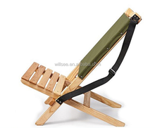 HE-1015-2,Comfortable wooden folding beach deck chair, wholesale chaise lounge deck beach chair wood