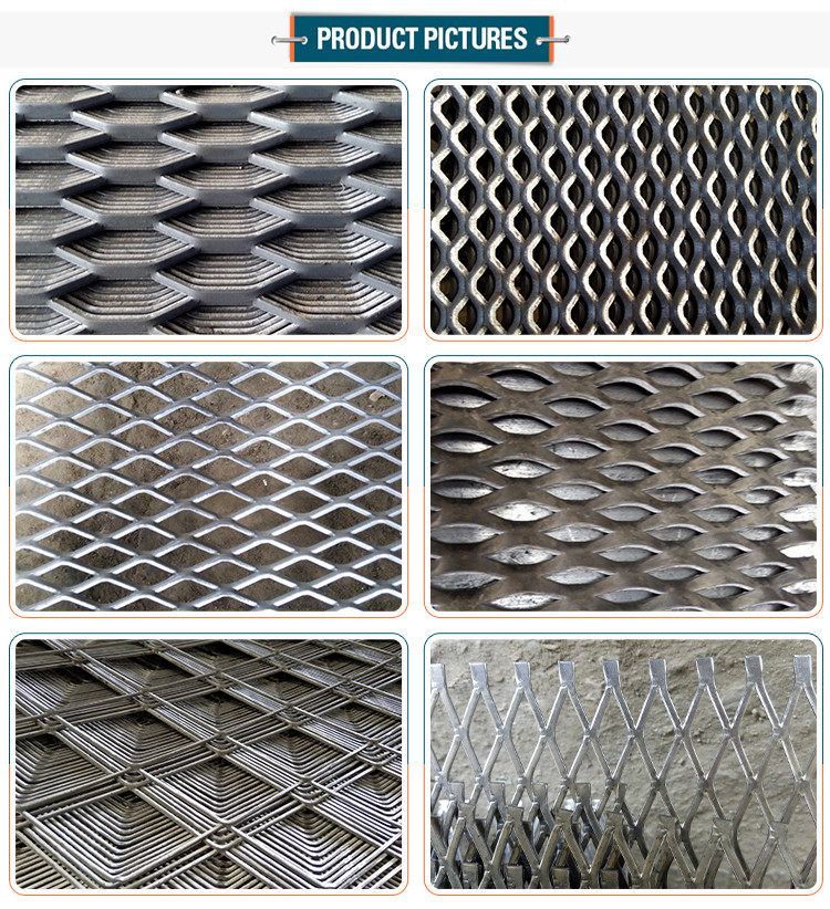 Best price gothic Expanded metal gothic mesh prices