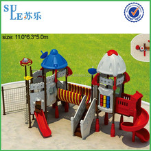 Fast supplier kids outdoor playground park Playground plastic jungle gym