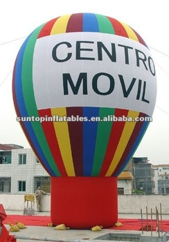 inflatable advertising ground balloon with high quality