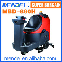MBD-860H Battery ride on steel brush for road sweeper