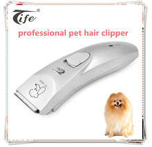 Wholesale eco friendly cheap price detachable blade electric rechargeable pet dog hair clippers