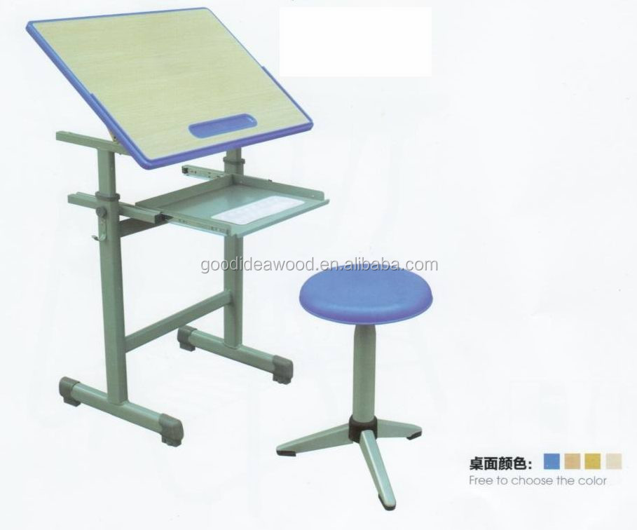 Sf-8007 student furniture art of talbe sketching table