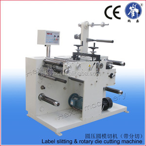 automatic label half cutter machine